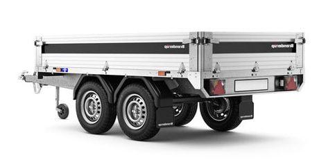 Brenderup trailer 2260S tip 750kg