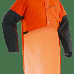 rygbeskyttelse med ærmer
