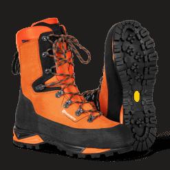 Læderstøvle med savværn, Technical 24
